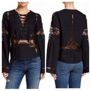 FREE PEOPLE BITTERSWEET BLOUSE